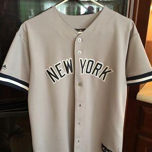 san francisco 1ae9d 27ffd Authentic Youth XL Yankees away jersey Sabathia